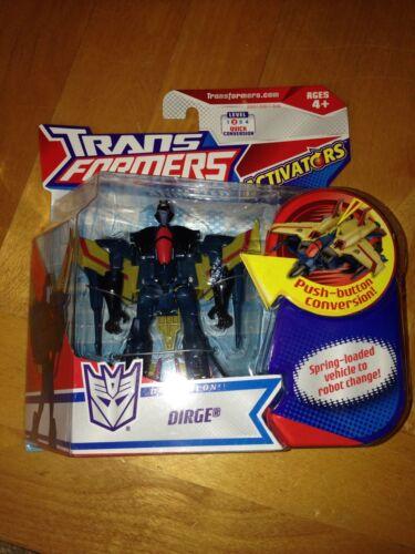 Transformers Animated activateurs Dirge Seeker rare G1 Classics Deco difficile à trouver