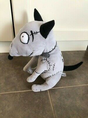 Rare Disney Tim Burton Frankenweenie 10 Plush Sparky Dog Plush Doll Ebay