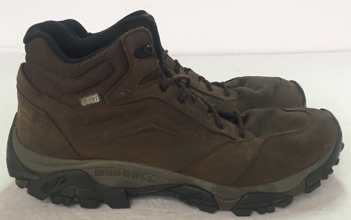 MERRELL Moab Adventure Mid Waterproof J91819 Vibram Outdoor shoes Boots US 11.5