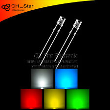 5colors 100pcs 3mm LED Diodes Flat top Red/Green/Blue/Yellow/White Mix Kits
