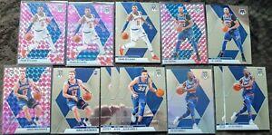 2019-20-Mosaic-Knicks-Lot-13-Ignas-Brazdeikis-Pink-Prizm-Rc-Frank-Ntilikina
