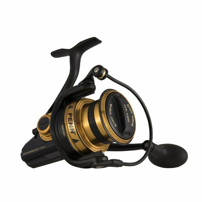 PENN Spinfisher VI Long Cast Spinning, Stationärrolle, Größe 5500-7500