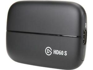 Elgato Game Capture HD60 S - Stream, Record and Share Your Gameplay in 1080p 60F