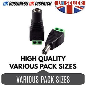 12v Dc Stecker Buchse Power Balun Anschlusskabel Adapter Stecker Für Cctv Kamera Ebay