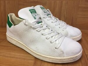 RARE-Adidas-Originals-Stan-Smith-OG-PK-Primeknit-Woven-Sz-8-5-White-Green-LE