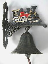 Lokomotive Glocke große Wandglocke Türglocke aus Gusseisen