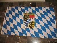 5x8 Ft Bavaria Bavarian Crown Coat Of Arms Flag Rough Tex Knitted 5'x8' Banner