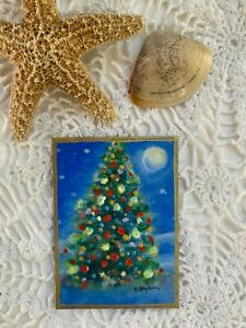 ACEO-Original-Miniature-acrylic-Painting-CapeCodArtist