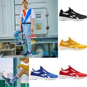 9adc0f6227f8d Reebok SHINee Taemin CL Nylon SP Casual Shoes CN5117 Sz5-12 Red Blue ...
