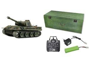 RC-Panzer-Panther-R-amp-S-2-4GHZ-Metallketten-Metallgetriebe-QC-23043