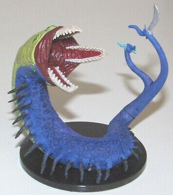 Seugathi D/&D Miniature Dungeons Dragons pathfinder purple worm legends 30 wyrm Z