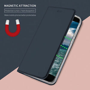 finest selection 25726 4f59f Details about For HTC U11 /Life, Business Magnetic Book Flip Leather Stand  Wallet Case Cover
