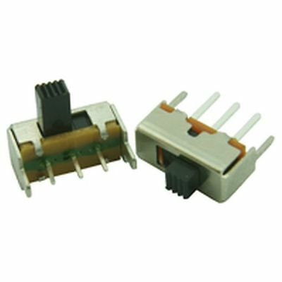 Miniature PCB Slide Switch Vertical Actuator (3 Pack)