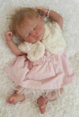NWT Newborn NB Baby Girl Dress Cherokee Pink and Cream Faux Fur Vest and Panties