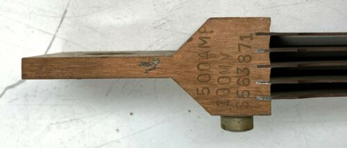 Details about  /500 Amp 100 MV Copper ELECTRIC SHUNT LABORATORY INDUSTRIAL