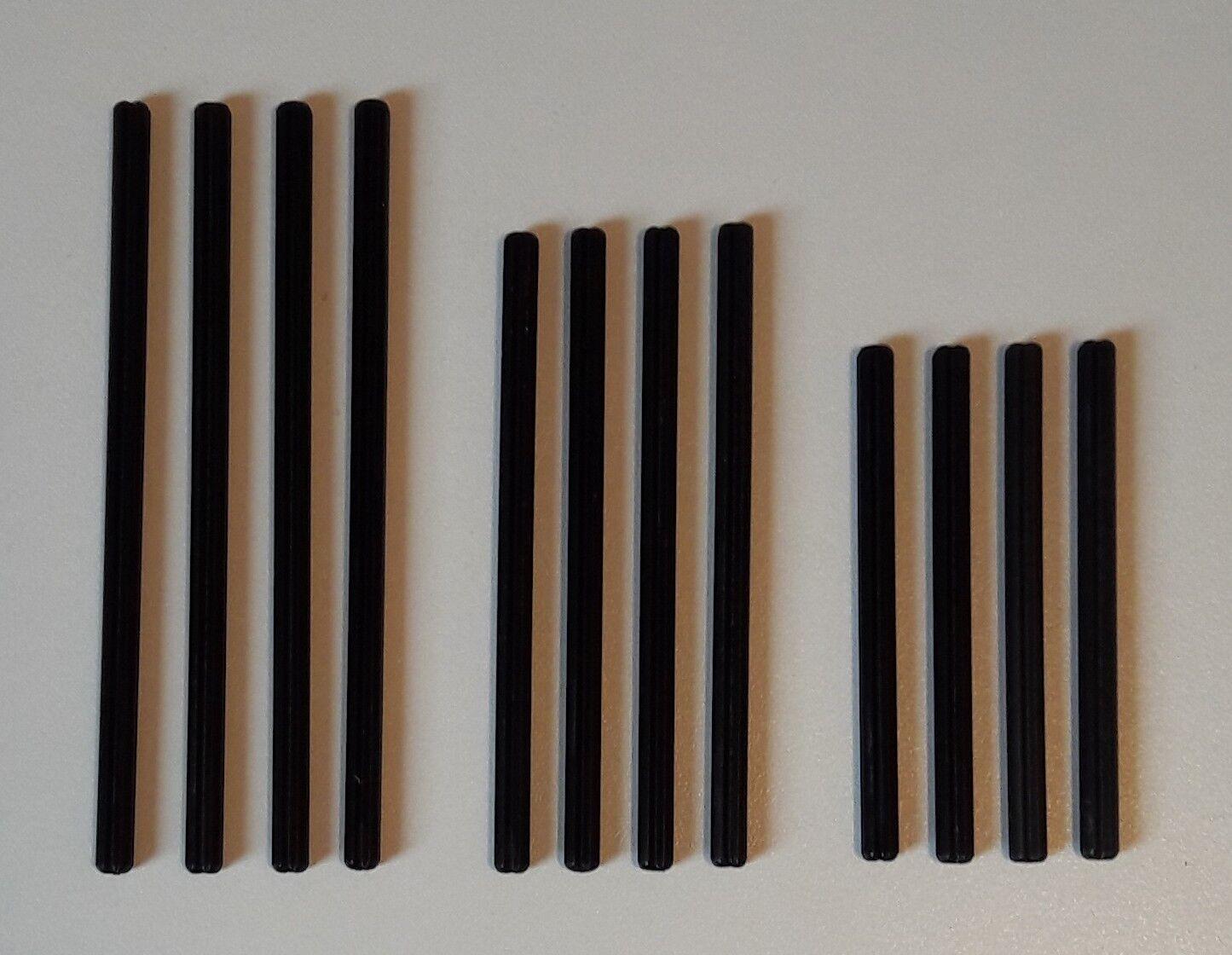LEGO Technic 12 Croce aste la raccolta Tecnologia 10033 per 4 lunghezze 8 10 e 12