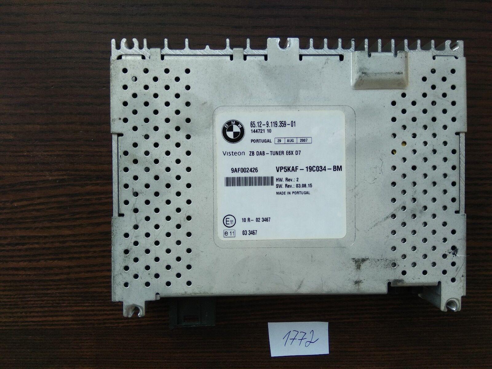 Drehregler Radio Drehknopf Schalter Lautstärke Volume CD für BMW 5ER E60 E61