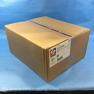 NIB STAHLIN ENCLOSURES BK-J1210HW  BLACK  4x12x10x5  FIBERGLASS ENCLOSURE