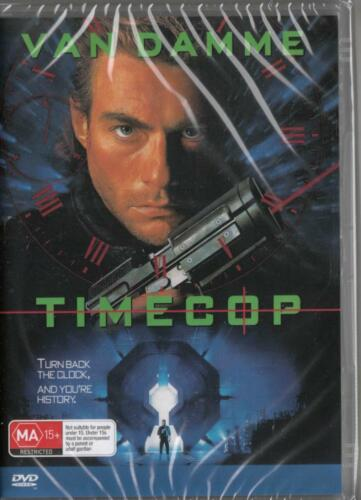1 of 1 - TIMECOP - JEAN CLAUDE VAN DAMME- NEW DVD - FREE LOCAL POST