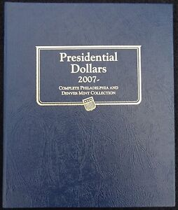 Whitman-Classic-Presidential-Dollars-P-D-2007-Coin-Album-NEW