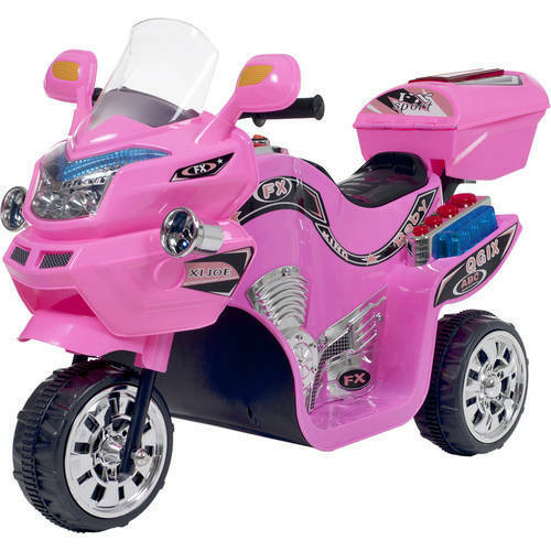 Battery Powered Ride On Bike 3 Wheel Motorcycle Trike For Kids Electric Toy Play For Sale Online Ebay
