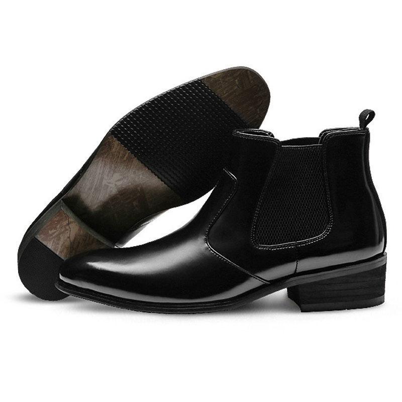 Mooda  Stiefel Uomo Genuine Leder Chelsea Stiefel Formal Ankle Stiefel  Dress Schuhes MOOI 623bc0