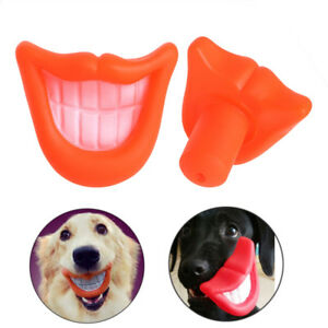 Novelty Funny Pet Dog Puppy Chew Sound Squeaky Big Smile Lips amp Teeth Play Toy - Doncaster, South Yorkshire, United Kingdom - Novelty Funny Pet Dog Puppy Chew Sound Squeaky Big Smile Lips amp Teeth Play Toy - Doncaster, South Yorkshire, United Kingdom