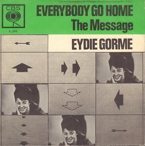 EYDIE-GORME-Everybody-Go-Home-1963-VINYL-SINGLE-7-034-NICE-DUTCH-PS