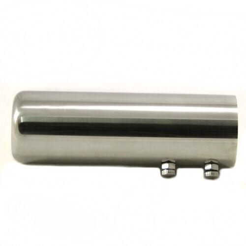 Chrome Exhaust Tip Pipe For Honda Civic Accord Jazz CRV Prelude Alfa 147 156 159