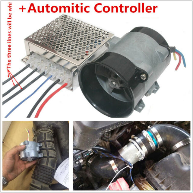 Professional Dc12v Automatic Car Electric Turbine Turbo Charger Controller