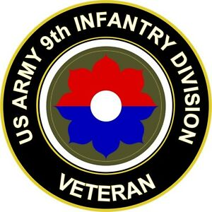 Army-9th-Infantry-Division-Veteran-5-5-034-Sticker-039-Officially-Licensed-039