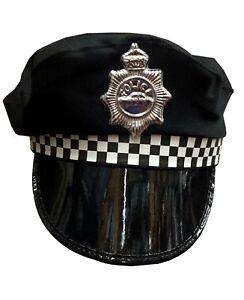 Policeman-Cap-Peak-Police-Cop-Hat-For-Adult-Fancy-Dress-Costume-Accessory
