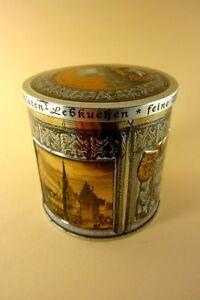 wunderschoene-Blechdose-rund-Wicklein-Feine-Nuernberger-Lebkuchen-mit-Motiv
