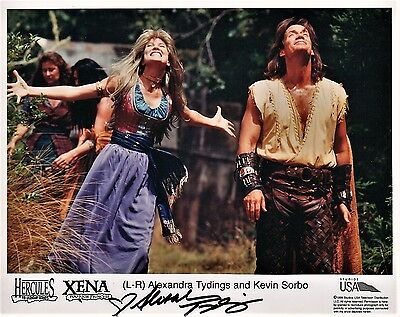 Xena Warrior Princess 8X10 Litho Photo~Alexandra Tydings~ Aphrodite Love Goddess