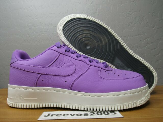 NikeLab Air Force 1 Low Sz 10 100% Authentic Nike AF1 905618 500 Purple Stardust