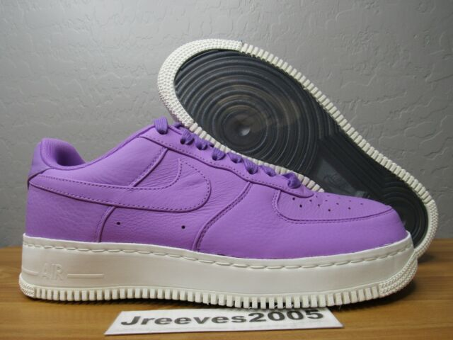 promo code 74fc5 00692 NikeLab Air Force 1 Low Sz 10 100% Authentic Nike AF1 905618 500 Purple  Stardust