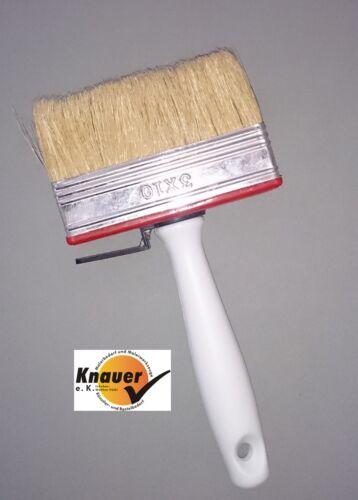 140 mm Malerbedarf Deckenbürste Pinsel Flächenstreicher Flachpinsel Lasurbürste