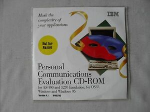 DVD-Personal-Communications-AS-400-amp-3270-for-Windows-Version-4-1