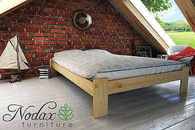 New Solid Pine 4ft Small Double Bed Frame Amp Slats F15 Ebay
