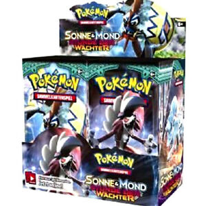 Pokémon Cards Sonne /& Mond 02 Stunde der Wächter Booster Neu /& OVP