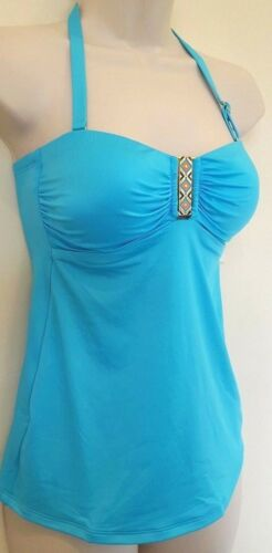 Woman/'s Girls M/&S turquoise Tankini /& brief set Size 8 Eur 36 BNWT