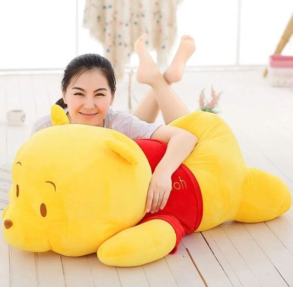 39'' 100cm Stuffed Winnie the Pooh Plush bears soft Toys doll Christmas Gift NEW
