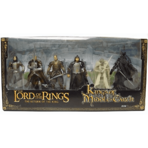 THE-LORD-of-THE-RINGS-034-THE-RETURN-OF-THE-KINGS-OF-MIDDLE-EARTH-034-COLLECTIBLES
