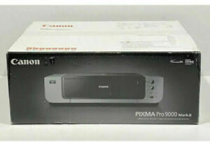 Canon PIXMA Pro9000 Mark II Wide Format Photo Printer+ 2 set of Ink+ Photo paper