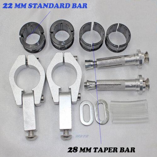 """Handguards MX Motorbike Dirt//Pit Bike Honda Yamaha Suzuki kawasaki 22mm 7//8/"""" bar"""