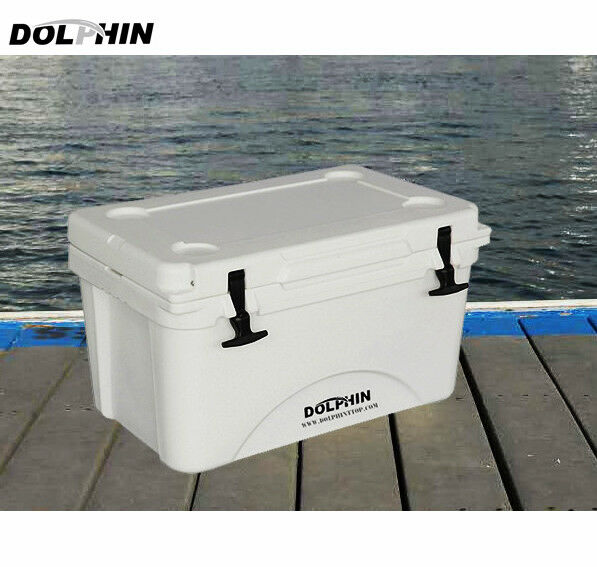 Dolphin T Top 50QT (45L) Marine Grade Fishing  Cooler Box Keep Cold 96+ Hours  large discount