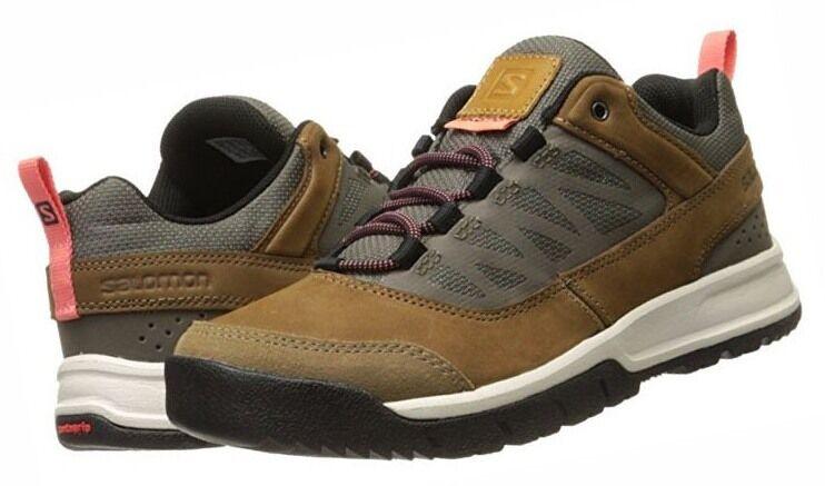 Salomon Instinct Travel Damen Leder Outdoor Schuhe Gr. 37 1/3 Wanderschuhe
