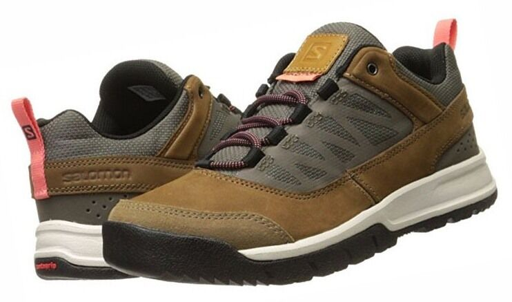 Salomon Instinct Schuhe Travel Damen Leder Outdoor Schuhe Instinct Gr. 36 2/3 36,5 Wanderschuhe aa36c1
