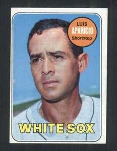 1969 Topps #75 Luis Aparicio EXMT+ White Sox 125045