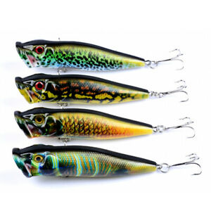 Hard-Metal-Fishing-Lures-Small-Minnow-Lure-Bass-Crank-Bait-Tackle-With-6-Hooks
